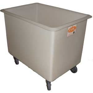 Rotationally Moulded 350 Litre Linen Trolley