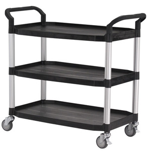 Utility Cart Large 3 Tier Service Trolley