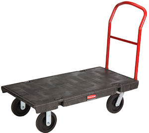 Rubbermaid Platform Flatbed Trolleys