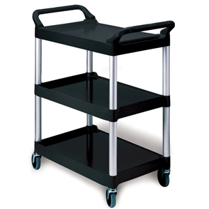 Rubbermaid 3424-88 Utility Cart Small Service Trolley