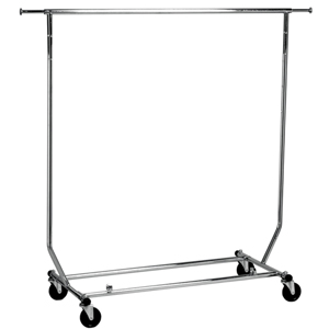 Salesman Folding Garment Rail Rack