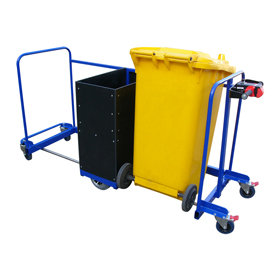 Motorised Wheelie Bin Trolley
