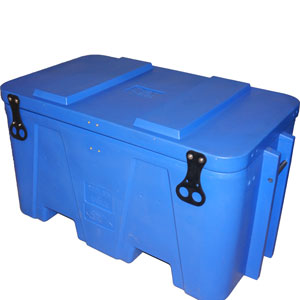 Insulated Cool Bins with Hinged Lid