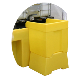 Dispensing Well for Single IBC Containment Unit