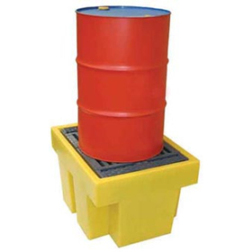 Single Drum Spill Pallet