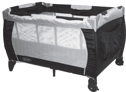 Siesta 2 in 1 Portable Cot