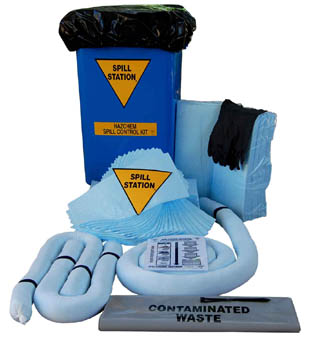 Hazchem Spill Control Kit for Spills up to 120 Litres