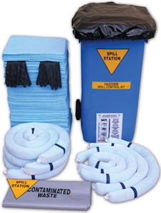 Hazardous Substances Spill Control Kit up to 400 Litre Hazchem