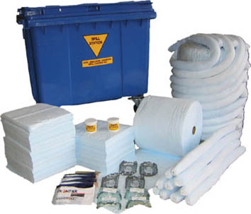 Hazardous Substances Spill Control Kit up to 870 Litre Hazchem