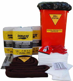 Workshop Spill Control Kit for Spills up to 200 Litres