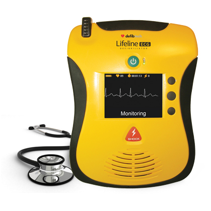 Lifeline VIEW AED with Rhythm Defibrillator - Defibrillation Machine