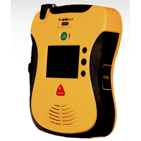 Lifeline VIEW AED Interactive Defibrillator - Defibrillation Machine