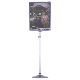 Sign Height Adjustable Display Stands