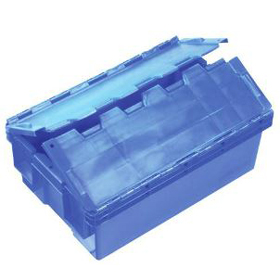 Attached Lid Crate