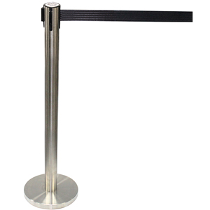 Cox Stainless Steel Retractable Belt Stanchion