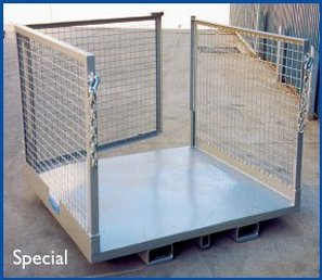 WP-OP Order Picking Cages Safety Cage for Forklifts