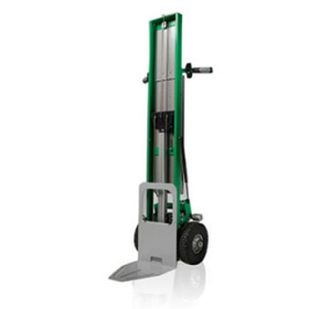 P2GOTILLER hand truck with power lift