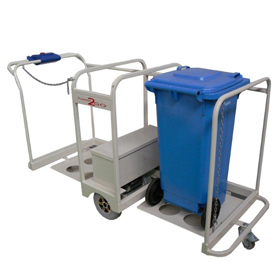 Power Drive Waste Bin Mover
