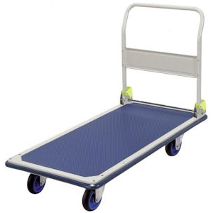 Prestar Folding Handle Long Platform Trolley - FL361