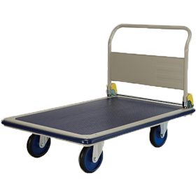 Prestar NG401 Folding Handle Platform Flat Bed Trolley 500kg Capacity