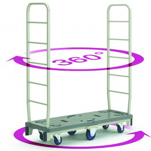 Prestar Slim Cart Supermarket Stacker Trolley - SC500