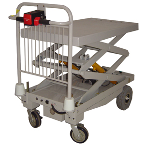 LIFTMATE Powered Platform Trolley with hydraulic lift