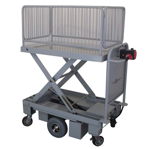 ULTIMATE LITE Powered Platform Trolley with hydraulic lift