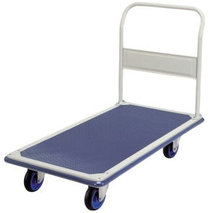 Prestar FL362 Single deck platform trolley with fixed handle