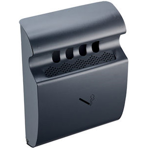 Wall Mounted Ashtray Grey
