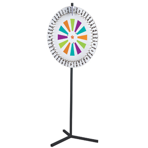Chocolate Wheel Freestanding