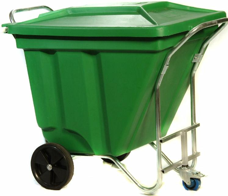 Gho Kart 270l Waste Bin E374 High Volume Mobile Garbage Bin
