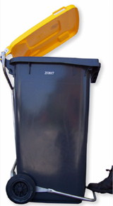 Lid Lifta - Foot Pedal Operated Bins