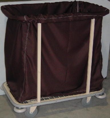 Soiled Linen Trolley Housemaid Dirty Sheet Collection Cart