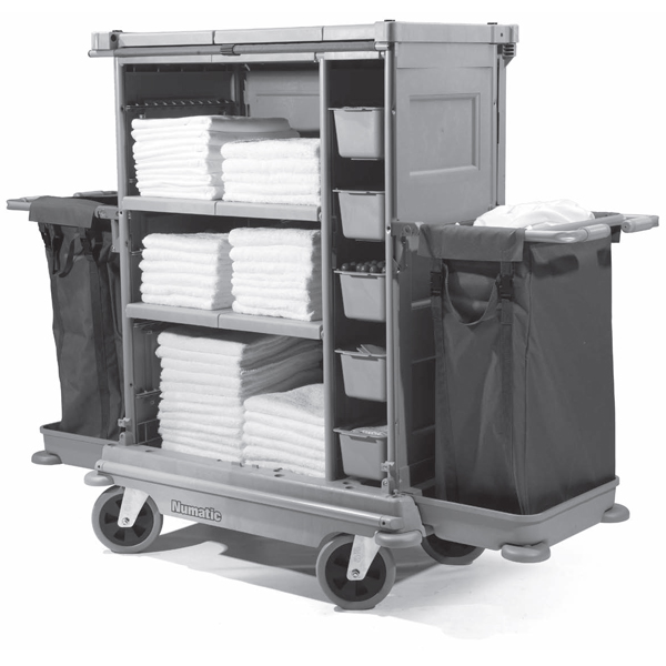 Numatic NuKeeper Twin Housekeeping Trolley NKT-22/FF