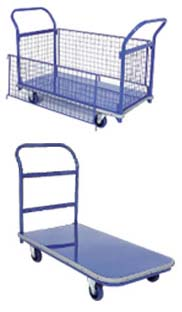 Cox Steel Platform Flat Bed Trolley