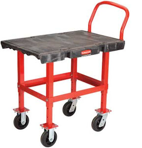 Rubbermaid 4473 Work-Height Platform Truck
