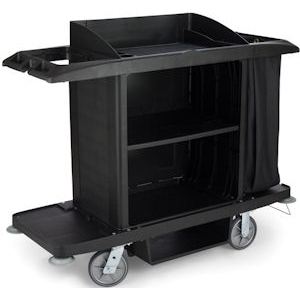 Rubbermaid 6189 Housekeeping Trolley