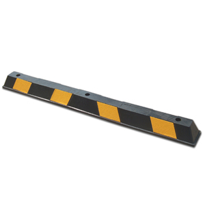 Wheel Stop - Rubber Suitable for Parking Areas