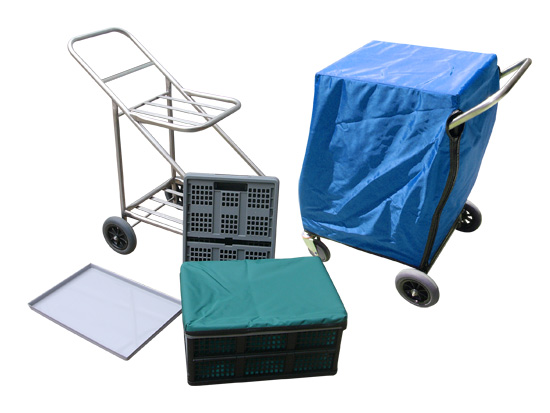 Zepher Trolley with Accessories