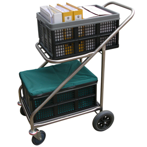 Zephyr Stainless Steel Trolley For Clax Baskets